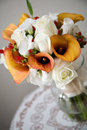 Wedding bouquet flower arrangement Stock Images