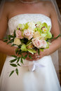 Wedding bouquet flower arrangement Royalty Free Stock Image