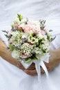 Wedding bouquet of flowers Stock Photo