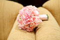 Wedding bouquet sofa Stock Images