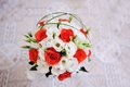 Wedding bouquet on white background Stock Image