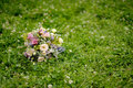 Wedding bunch of wild flowers Royalty Free Stock Photos