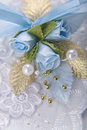 Wedding buttonhole Royalty Free Stock Photo