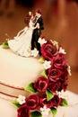 Wedding Cake 2 Stock Images