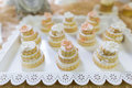 Wedding cake beautiful cakes at Royalty Free Stock Photo