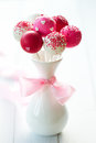 Wedding cake pops Stock Photography