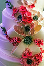 Wedding cake specially decorated.Detail 33