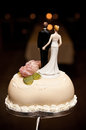 Wedding cake top Stock Image