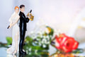 Wedding Cake topper Royalty Free Stock Photo