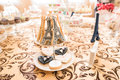 Wedding Candy Bar Live Royalty Free Stock Photo