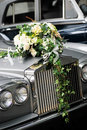 Wedding Car Front Royalty Free Stock Photos