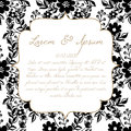 Wedding card Royalty Free Stock Images