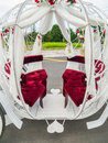 Wedding Carriage Royalty Free Stock Photo