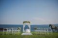 Wedding Ceremony Flowers, Arch...