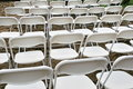 Wedding chairs Stock Images