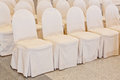 Wedding chairs Stock Photography