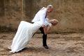 Wedding couple dancing Royalty Free Stock Photo