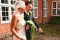 Wedding couple rice Royalty Free Stock Photo