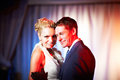 Wedding dance bride and groom Stock Images