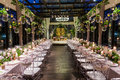 Image : Wedding dinner colorfull