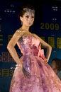 Wedding dress show in China Stock Photos