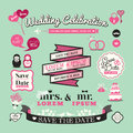 Wedding Elements Labels And Fr...