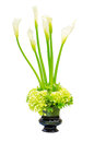 Wedding flower arrangement centerpiece Stock Images