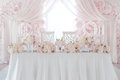 Wedding flower decoration Royalty Free Stock Photo
