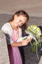 Wedding - Flower Girl Stock Photos
