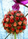 Wedding flowers beautiful bouquet of ready for Stock Image