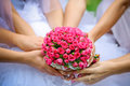 Wedding flowers bouquet Royalty Free Stock Photography