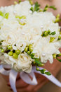 Wedding freesias Stock Photography