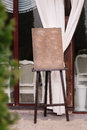 Wedding guest list on wooden easel Royalty Free Stock Photo