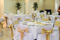 Wedding Hall Setup Royalty Free Stock Photo