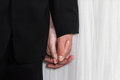Wedding hands Royalty Free Stock Photo