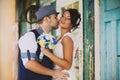 Wedding, hat, style, old Royalty Free Stock Photo
