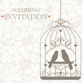 Wedding invitation Stock Photography