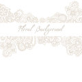 Wedding, invitation or anniversary card template with romantic floral background Royalty Free Stock Photo