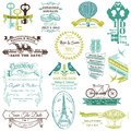 Wedding Invitation Collection Royalty Free Stock Images