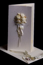 Wedding invitation with envelope Royalty Free Stock Photo