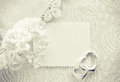 Wedding invitation, valentine day concept, monochrome card Royalty Free Stock Photo