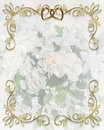 Wedding Invitation Vintage floral  Royalty Free Stock Images