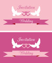 Wedding invitations covers for invitation cards Royalty Free Stock Photo