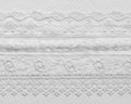 Wedding lace background white luxury Stock Photo