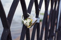 Wedding lock Royalty Free Stock Photo
