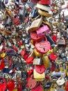 Wedding locks Stock Photo