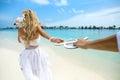 Wedding on Maldives Royalty Free Stock Photo