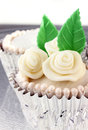 Wedding or Mother's day cupcakes Stock Image