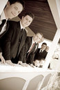 Wedding Party Groomsmen Stock Photography