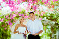 Wedding photo shoot Royalty Free Stock Photo